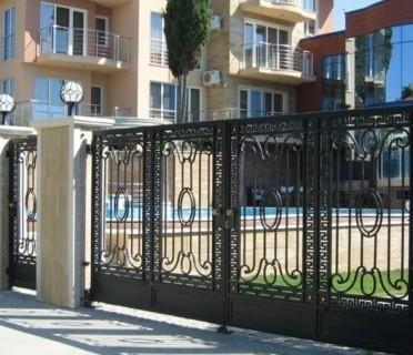 Ворота кованые ВК53