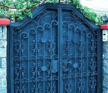 Ворота кованые ВК55