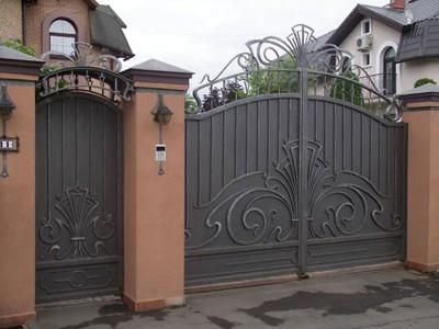 Ворота кованые ВК56