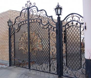 Ворота кованые ВК57