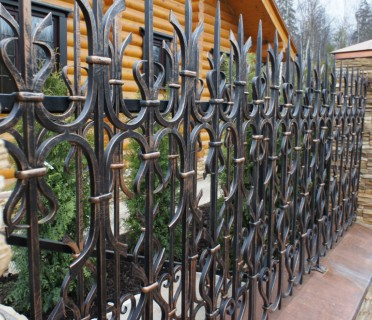 Забор кованый ЗБК35