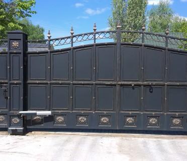 Ворота кованые ВК01
