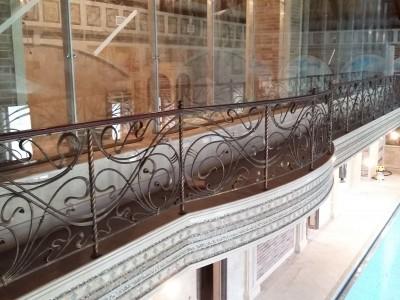 Ограждение кованое для балкона БК68