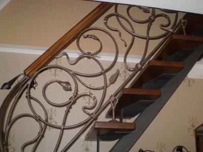Деревянная лестница ДЛМ01