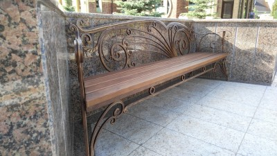 Кованая скамейка ЛАВ1