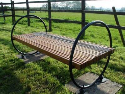 Кованая скамейка ЛАВ3