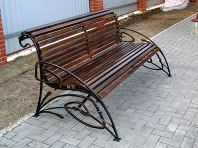 Кованая скамейка ЛАВ5