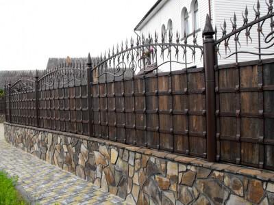 Забор кованый ЗБК19