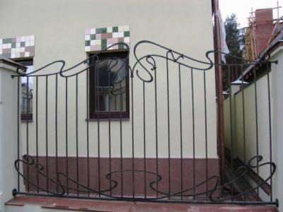 Кованые ворота ВК69