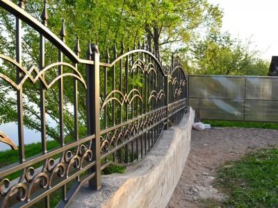 Забор кованый ЗБК24