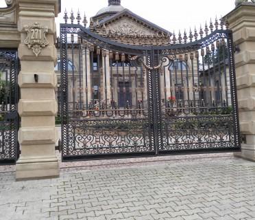 Кованые ворота ВК61