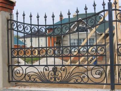 Забор кованый ЗБК26