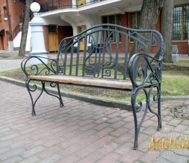 Кованая скамейка ЛАВ 7211