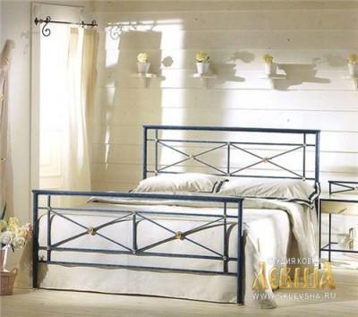 Кованая кровать 7403