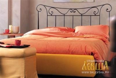 Кованая кровать 7407