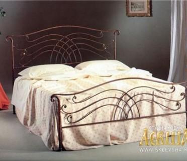 Кованая кровать 7414