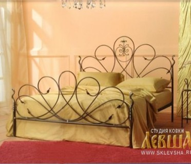 Кованая кровать 7419