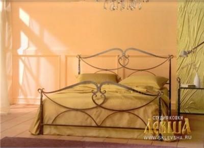 Кованая кровать 7420