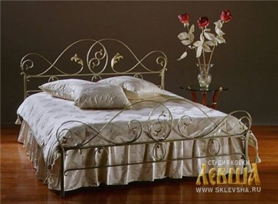 Кованая кровать 7430