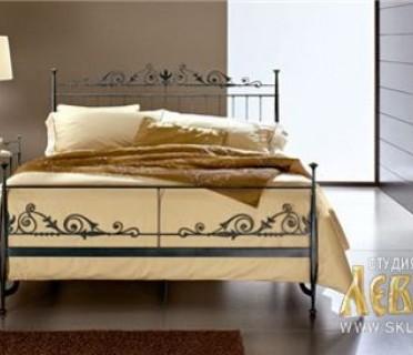 Кованая кровать 7443