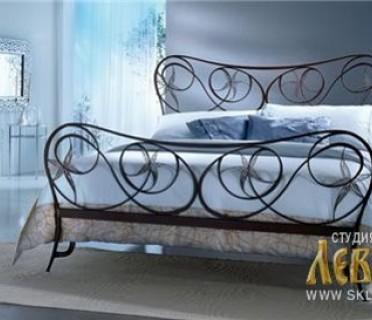 Кованая кровать 7445