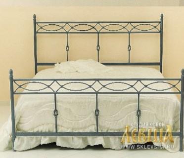 Кованая кровать 7450