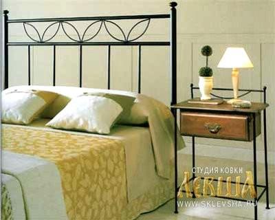 Кованая кровать 7452