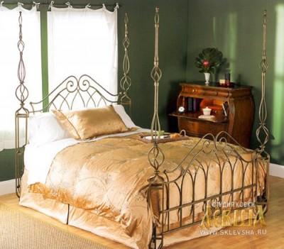 Кованая кровать 7454