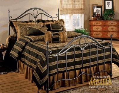 Кованая кровать 7459