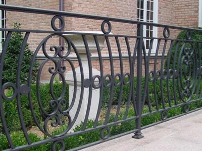 Забор кованый ЗБК32