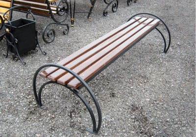 Кованая скамейка ЛАВ16