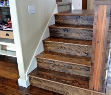 Деревянная лестница ДЛБ03