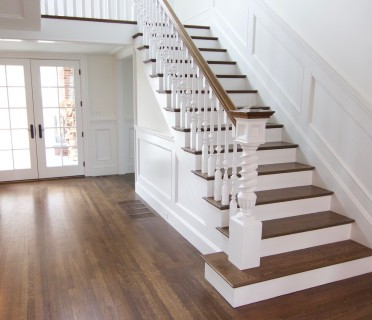 Деревянная лестница ДЛБ09