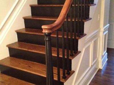 Деревянная лестница ДЛБ12