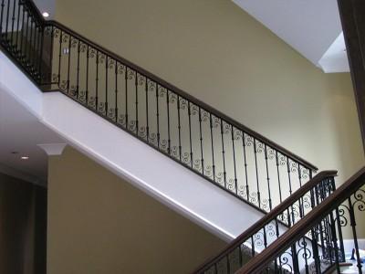 Кованые перила лестничные ПЕРК43