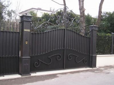 Ворота кованые ВК02