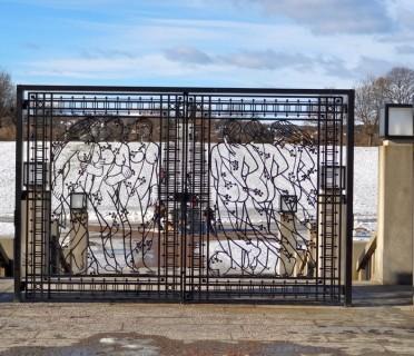 Ворота кованые ВК05