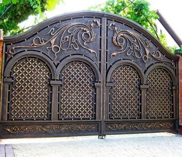 Ворота кованые ВК07