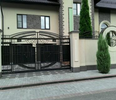 Ворота кованые ВК08