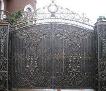 Ворота кованые ВК11