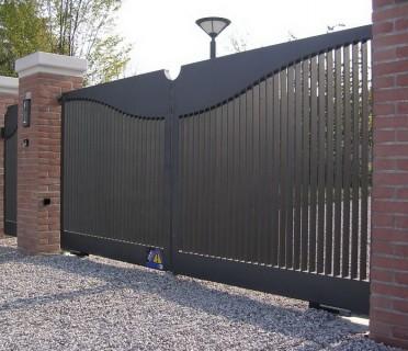 Ворота кованые ВК17
