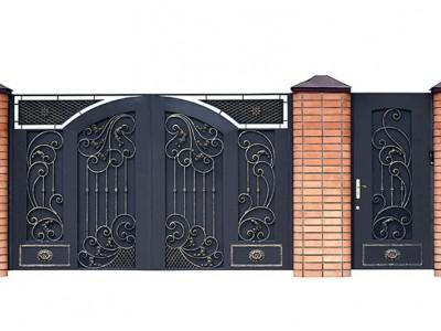 Ворота кованые ВК22