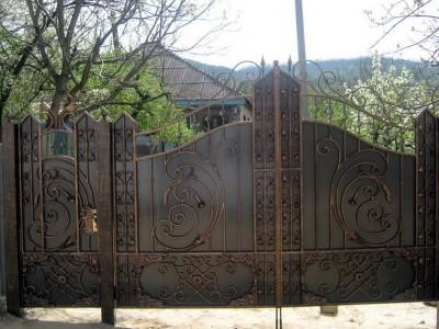 Ворота кованые ВК25