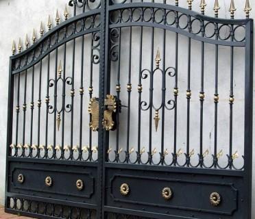 Ворота кованые ВК29