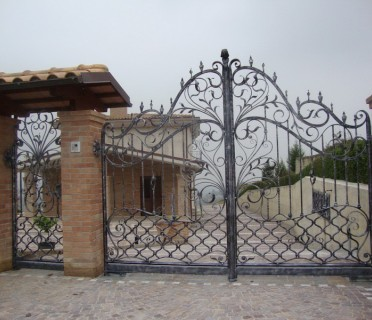 Ворота кованые ВК31