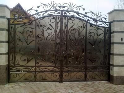 Ворота кованые ВК34