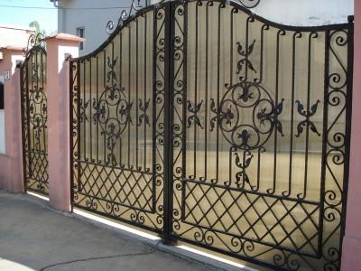 Ворота кованые ВК37