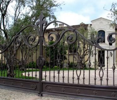 Ворота кованые ВК38