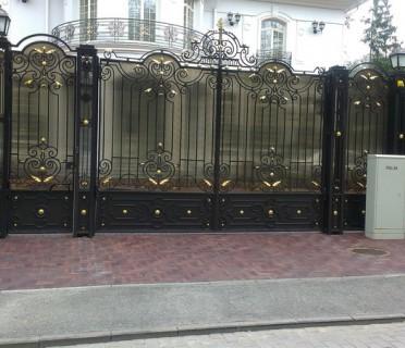 Ворота кованые ВК39