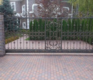 Ворота кованые ВК40